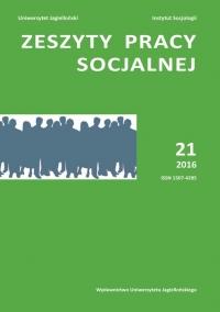 Zeszyty Pracy Socjalnej, 2017/3, Tom 22, numer 1