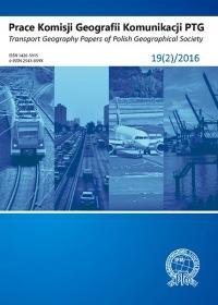 Prace Komisji Geografii Komunikacji PTG , 2016/4, 19(2)