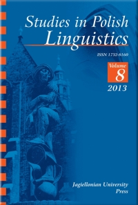 Studies in Polish Linguistics, 2013/12, Issue 2