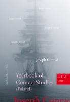 Yearbook of Conrad Studies, 2011/1, Vol. VI
