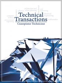 Czasopismo Techniczne, 2017/9, Volume 9