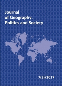 Journal of Geography, Politics and Society, 2017/8, Issue 3