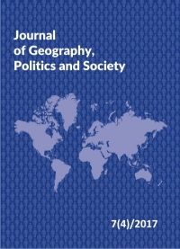 Journal of Geography, Politics and Society, 2017/12, Issue 4