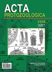 Acta Protozoologica, 2016/1, Volume 55, Issue 1