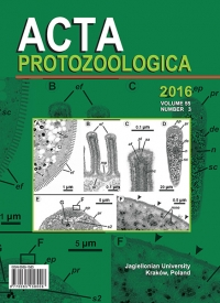 Acta Protozoologica, 2016/11, Volume 55, Issue 3