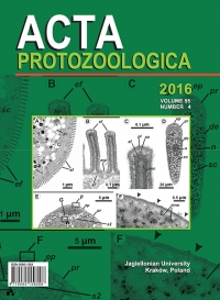 Acta Protozoologica, 2016/12, Volume 55, Issue 4