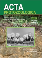 "Acta Protozoologica, 2012/11, Volume 51, Issue 3, Special topic issue:""Protists in Soil Processes"""