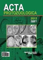 Acta Protozoologica, 2013/12, Volume 52, Issue 1