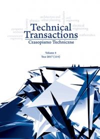 Czasopismo Techniczne, 2017/4, Volume 4