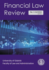 Financial Law Review, 2018/9, Issue 11 (3)