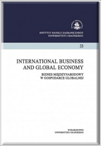 International Business and Global Economy, 2016/12, Tom 35, Numer 2