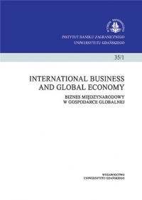 International Business and Global Economy, 2016/11, Tom 35, Numer 1