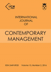 International Journal of Contemporary Management, 2016/4, Numer 15(2)