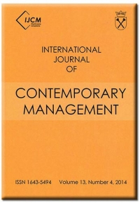 International Journal of Contemporary Management, 2016/11, Numer 15(3)