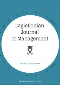 Jagiellonian Journal of Management, 2016/12, Numer 4