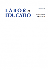 Labor et Educatio, 2018/3, 6 (2018)