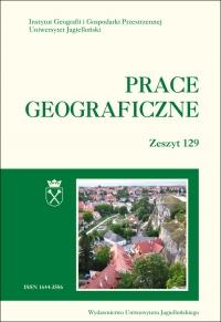 Prace Geograficzne, 2012/8, Zeszyt 129