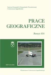 Prace Geograficzne, 2013/3, Zeszyt 131
