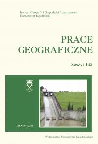 Prace Geograficzne, 2013/6, Zeszyt 132