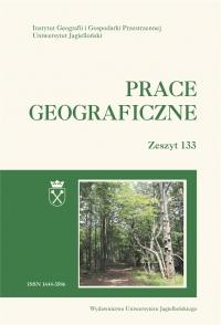 Prace Geograficzne, 2013/7, Zeszyt 133