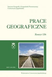 Prace Geograficzne, 2014/5, Zeszyt 136