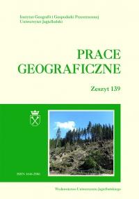 Prace Geograficzne, 2014/12, Zeszyt 139