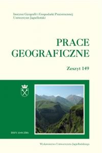 Prace Geograficzne, 2017/8, Zeszyt 149