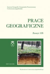 Prace Geograficzne, 2014/2, Zeszyt 135