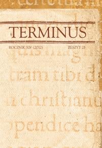 Terminus, 2012/11, Tom XIV zeszyt 25