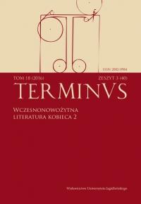 Terminus, 2016/11, Tom 18, zeszyt 3 (40)