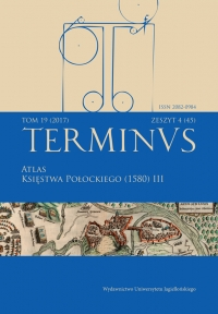 Terminus, 2017/12, Tom 19, zeszyt 4 (45)