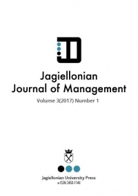 Jagiellonian Journal of Management, 2017/12, Numer 3