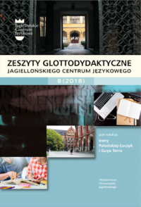 Zeszyty Glottodydaktyczne, 2018/12, Zeszyt 8 (2018)