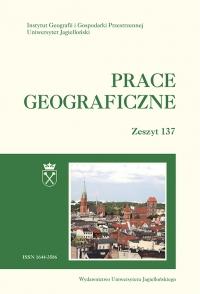 Prace Geograficzne, 2014/7, Zeszyt 137