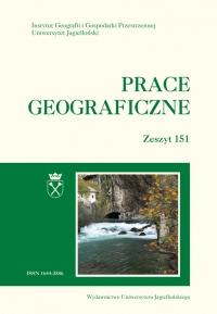 Prace Geograficzne, 2017/12, Zeszyt 151