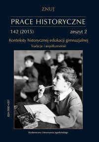 Prace Historyczne, 2015/6, Numer 142 (2)
