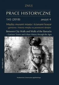 Prace Historyczne, 2018/10, Numer 145 (4)