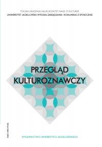 Przegląd Kulturoznawczy, 2018/12, Numer 4 (38)