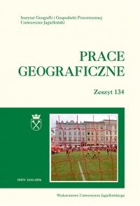 Prace Geograficzne, 2013/11, Zeszyt 134