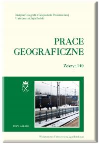 Prace Geograficzne, 2017/11, Zeszyt 150
