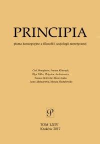 Principia, 2017/1, Tom 64