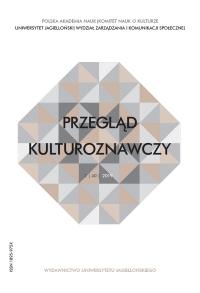 Przegląd Kulturoznawczy, 2019/6, Numer 2 (40)