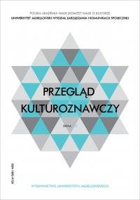 Przegląd Kulturoznawczy, 2014/10, Numer 2 (20)