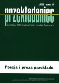 Przekładaniec, 2007/4, Numer 17