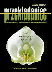 Przekładaniec, 2011/2, Numer 24 - Myśl feministyczna a przekład