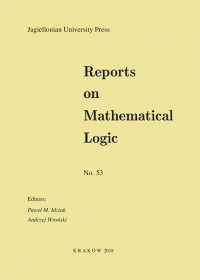 Reports on Mathematical Logic, 2018/8, Number 53