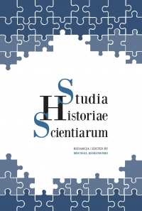 Studia Historiae Scientiarum, 2016/11, 15 (2016)