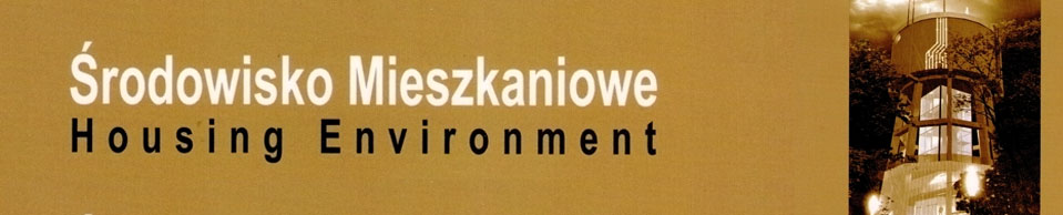 Środowisko Mieszkaniowe, 2019/9, Methodological Principles of Formation and Development of Entertaining Institutions