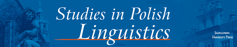 Studies in Polish Linguistics, 2018/3, Volume 13, Issue 1