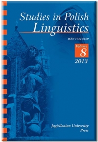 Studies in Polish Linguistics, 2016/4, Issue 2